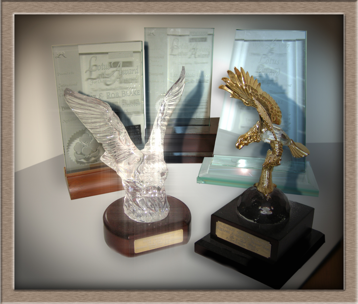 International 'Lotus' & National 'Eagle' Awards