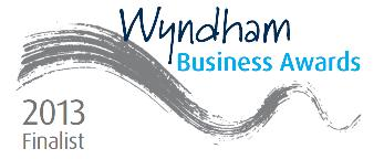 Finalist, 2013 Wyndham Business Awards
