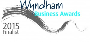 Finalist, Wyndham Business Awards 2015 & 2013.